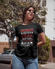 I Have A Crazy Stepdad Ladies T-Shirt apparel-ladies-t-shirt-lifestyle-02