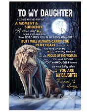 I Closed My Eyes For But A Moment Mom To Daughter Vertical Poster tile