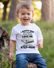 God Sent Me My Step Mom Youth T-Shirt lifestyle-youth-tshirt-front-4