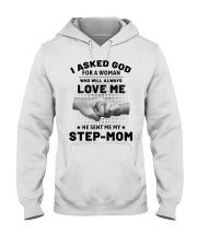 God Sent Me My Step Mom Hooded Sweatshirt thumbnail