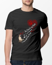 German shepherd Road To My Heart Classic T-Shirt lifestyle-mens-crewneck-front-13