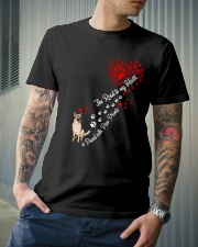 German shepherd Road To My Heart Classic T-Shirt lifestyle-mens-crewneck-front-6