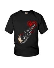 German shepherd Road To My Heart Youth T-Shirt thumbnail