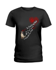 German shepherd Road To My Heart Ladies T-Shirt thumbnail