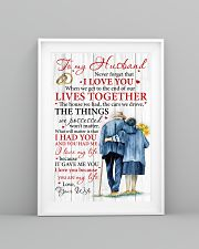 Husband I Love You Because You Are My Life 11x17 Poster lifestyle-poster-5