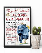 Husband I Love You Because You Are My Life 11x17 Poster lifestyle-poster-8