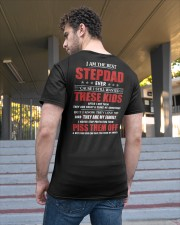I'm The Best Stepdad Still Wanted These Kids Classic T-Shirt apparel-classic-tshirt-lifestyle-back-48