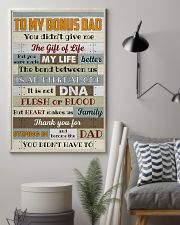 Bonus Dad -Thank you for steping in and become dad 11x17 Poster lifestyle-poster-1