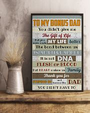 Bonus Dad -Thank you for steping in and become dad 11x17 Poster lifestyle-poster-3
