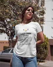 Unicorn Mom Ladies T-Shirt apparel-ladies-t-shirt-lifestyle-02
