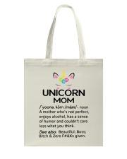 Unicorn Mom Tote Bag thumbnail