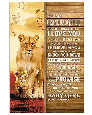 Never 4get That I Love U Grandma-To-Granddaughter 11x17 Poster thumbnail