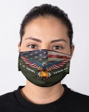 To Dad Eagle US Army Veteran Cloth face mask aos-face-mask-lifestyle-01
