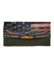 To Dad Eagle US Army Veteran Cloth face mask front