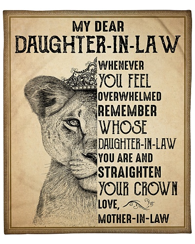 My Daughter-In-Law Remember Straighten Your Crown