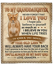 """Never Forget That I Love You-Young Lion GP to GD Fleece Blanket - 50"""" x 60"""" front"""