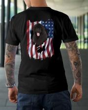 Ariege Pointer Flag Newfoundland Classic T-Shirt lifestyle-mens-crewneck-back-3