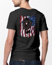 Ariege Pointer Flag Newfoundland Classic T-Shirt lifestyle-mens-crewneck-back-5