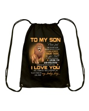 Son Lion I'll Always Be There To Support You Drawstring Bag thumbnail