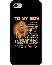 Son Lion I'll Always Be There To Support You Phone Case thumbnail