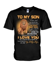 Son Lion I'll Always Be There To Support You V-Neck T-Shirt thumbnail