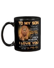 Son Lion I'll Always Be There To Support You Mug back