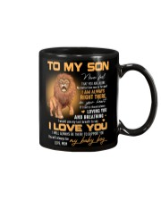 Son Lion I'll Always Be There To Support You Mug front
