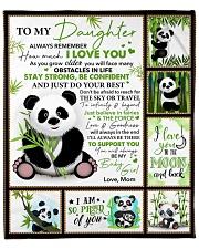 "Bear-Im So Proud Of You-Mom-To-Daughter Fleece Blanket - 50"" x 60"" front"