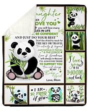 "Bear-Im So Proud Of You-Mom-To-Daughter Sherpa Fleece Blanket - 50"" x 60"" thumbnail"