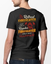 Retired Firefighter Classic T-Shirt lifestyle-mens-crewneck-back-5