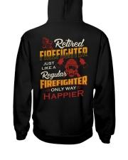 Retired Firefighter Hooded Sweatshirt thumbnail