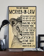 To My MIL Thanks For Not Selling Him To The Circus 11x17 Poster lifestyle-poster-2