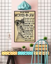 To My MIL Thanks For Not Selling Him To The Circus 11x17 Poster lifestyle-poster-6