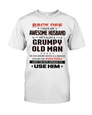 Back Off I Have An Awesome Husband Classic T-Shirt thumbnail