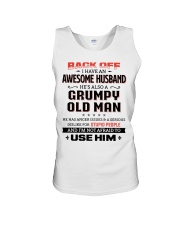 Back Off I Have An Awesome Husband Unisex Tank thumbnail