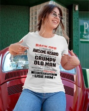 Back Off I Have An Awesome Husband Ladies T-Shirt apparel-ladies-t-shirt-lifestyle-01