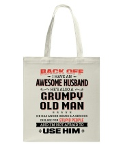 Back Off I Have An Awesome Husband Tote Bag thumbnail