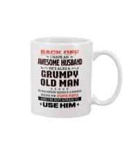 Back Off I Have An Awesome Husband Mug thumbnail