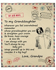 """Granddaughter Be Brave Have Courage And Love Life  Fleece Blanket - 50"""" x 60"""" front"""