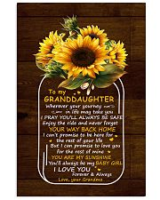 You Are My Sunshine Grandma To Granddaughter 11x17 Poster thumbnail