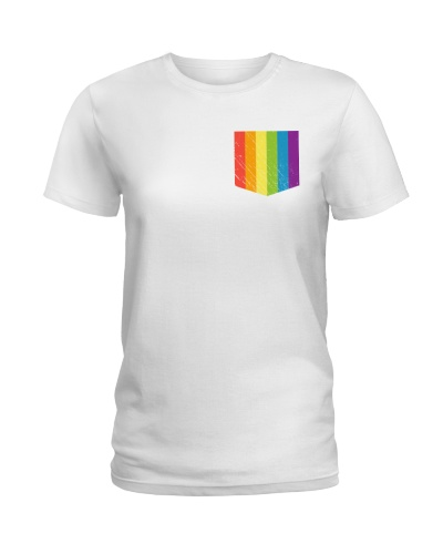LGBT Pride Rainbow Pocket
