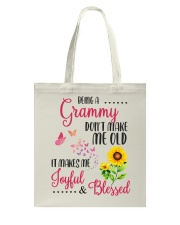 BEING A grammy Tote Bag thumbnail