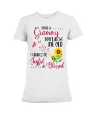 BEING A grammy Premium Fit Ladies Tee thumbnail
