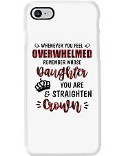 Whenever You Feel Overwhelmed Phone Case thumbnail