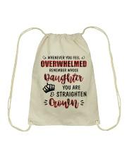 Whenever You Feel Overwhelmed Drawstring Bag thumbnail
