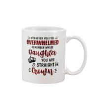 Whenever You Feel Overwhelmed Mug front