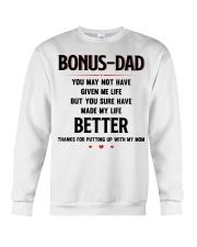 Bonus Dad Crewneck Sweatshirt thumbnail