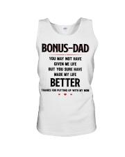 Bonus Dad Unisex Tank thumbnail