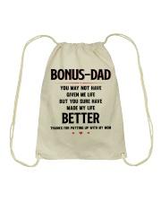 Bonus Dad Drawstring Bag thumbnail