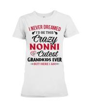 here I am NONNI Premium Fit Ladies Tee thumbnail